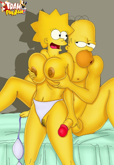 The Simpsons Tram Pararam Cartoon Hentai Porn Drawn By
